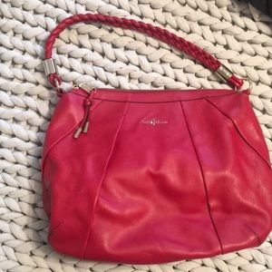 Cherry red Cole Haan bag